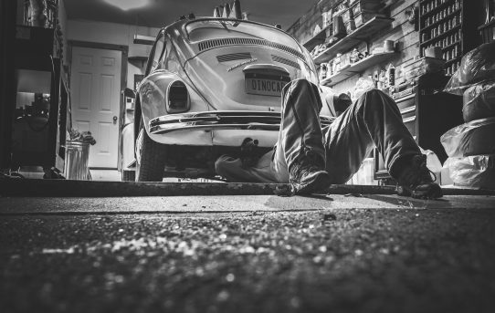 Mechanik auto gaz